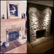 Fireplace Renovation  Novi Insurance Office Before And After ...
