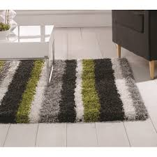 nordic channel lime green grey rug