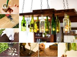back to beer bottle chandelier ideas