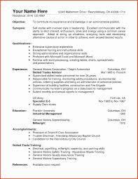 Warehouse Clerk Resume Sample Lovely Resume Outline For A College