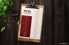 Restaurant Menu Template Free Italian Restaurant Menu Template Ai