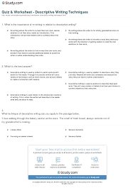 worksheet sensory words worksheet worksheet study site worksheet sensory words worksheet quiz worksheet descriptive writing techniques study com print definition examples worksheet