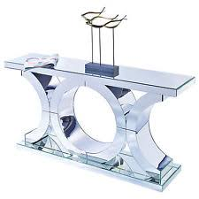 mirror glass table. mirrored glass large console table hall stylish contemporary design new mirror e