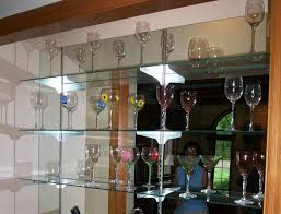 glass shelves are an inspiring solution to your design needs creating custom glass shelves is another specialty of modern glass designs company