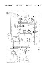patent us5228078 two wire intercom hands function patent drawing