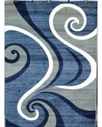 gray and white rug blue and white rug gray and white striped runner rug