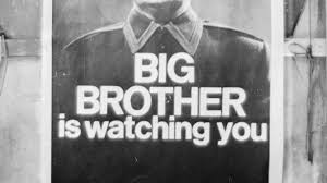 "you probably didn    t read the most telling   of orwell    s ""    big brother is watching you   george orwell"