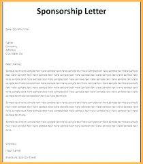 Proposal Letter For Sponsorship Sample For Event Sponsorship Letter For Event