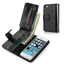 iphone se 5s 5g 5 wallet case synthetic leather wallet case flip cover with credit id card slotoney pocket for apple iphone 5 5g 5s se black