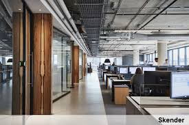 Office ceilings Concrete Skender Built Out The Second Floor 38000 Sf Space At 1330 W Fulton Market To Serve As Its New Headquarters Image Courtesy Of Skender Work Design Magazine The Hidden Costs Of Open Ceilings