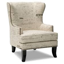 fabric chairs for living room. black and white accent chair with letter art print fabric chairs for living room s