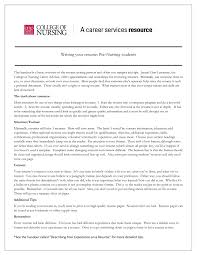 Resume For Nursing Student Resume Template Nursing Student Nursing Resume Samples Resume 19
