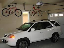 ceiling bike rack garage ideas