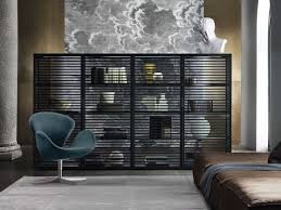 italian contemporary furniture. rimadesio alambra display cabinet in aluminium design furniture italian contemporary i