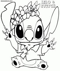 Billedresultat For Lilo And Stitch Experiments Coloring Pages Idea