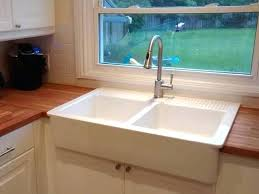 domsjo sink double sink adds a classic country feel and pairs beautifully with the butcher block domsjo sink