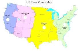 Time Zone Map Usa Pergoladach Co