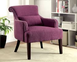 Purple Accent Chairs Living Room Purple Fabric Accent Chair Caravana Furniture