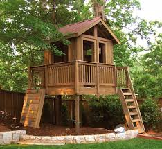 Photo 6 of 8 Backyard Tree House Ideas Backyard Play Spaces In Atlanta From  Tree Houses To Playing Modern Home