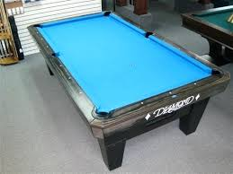 diamond 8 foot pro am pool table charcoal finish larger photo email a friend oversized cover pool table