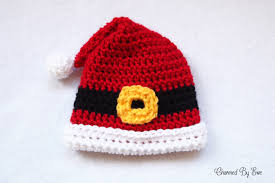 Crochet Santa Hat Pattern Simple Design Ideas