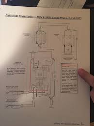 ss hp ics wiring please help by mlipps com attached is the schematic required 3 wire no neutral not sure what gauge wire among other things