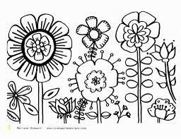Free Printable Spring Flowers Coloring Pages Fresh Spring Coloring