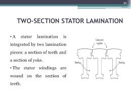 stator design 9 10 two section stator