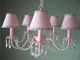 kids room white pink crystal chandelier light fixture view larger