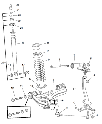 2008 chrysler crossfire suspension front