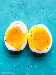 Soft Boiled Egg Chart Perfect Soft Boiled Eggs Step By Step Photos And Video