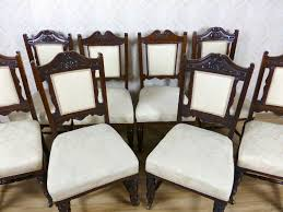 innovative cream upholstered dining chairs 8 antique gany cream upholstered dining chairs 259873