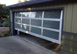 image of frosted glass garage door s los angeles