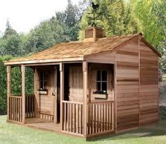 cedar garden shed. Fine Garden Ranch House Cedar Storage Shed Kit With Porch  4 Sizes Available In Garden E