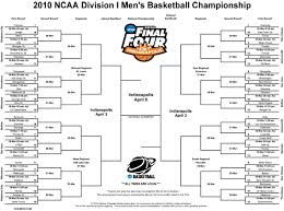 Bracket For Ncaa Basketball Tournament March Madness 2010 Printable Ncaa Mens Basketball Tournament