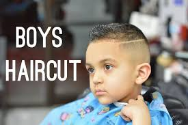 Little Boys Haircut Fading And Haircut Techniques On Kids Hair