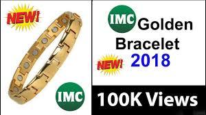 IMC 2018 New - Anti Radiation & Bio <b>Energy</b> Golden <b>Bracelet</b> ...