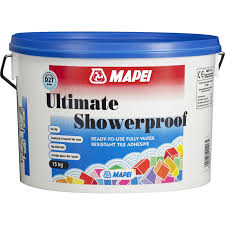 mapei ultimate showerproof wall tile