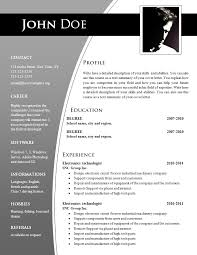 Formatos De Curriculum Vitae En Word Gratis Free Attractive Creative Resume Templates Word Cvexpress