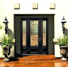 glass panels for front doors panel inserts above