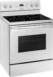 samsung stove white. samsung 5.9 cu. ft. freestanding electric range white ne59m4310sw - best buy stove