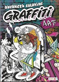 Fill color hand painted graffiti coloring books ease the pressure 24 pages english edition enchanted forest office painting book. Amazon Com Bendon Graffiti Art Advanced Coloring
