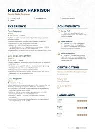 writing an engineering resumes 8 big data engineer resume examples and writing guide