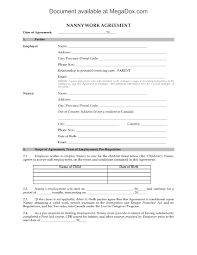 Free Employment Contract Templates Employee Contract Template Canada
