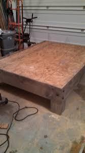 diy platform bed. Platform Bed Frame Diy