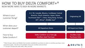 Delta Connection Seating Chart Delta Comfort