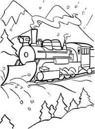 Lygwela Coloring Page Polar Express Fun Projects For Little