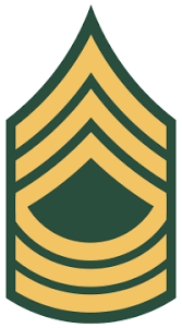 U S Army Master Sergeant Pay Grade And Rank Details