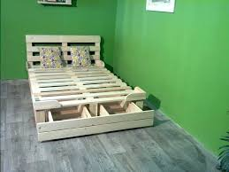 bed made out of pallets platform beds made out of pallets glamorous bedroom design platform beds bed made out of pallets