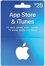 app itunes gift cards 25 design may vary